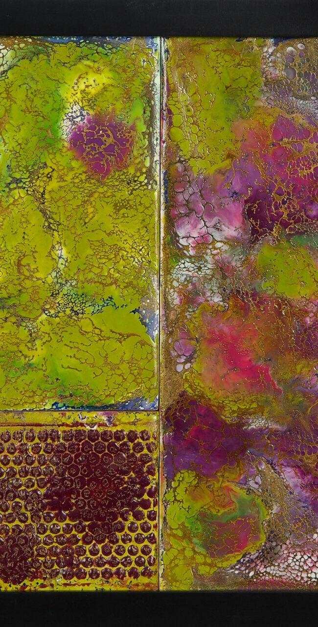 Encaustic Mosaic I